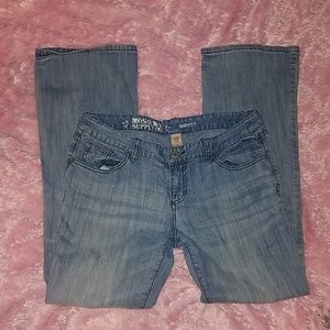 Mossimo supply co bootcut jeans